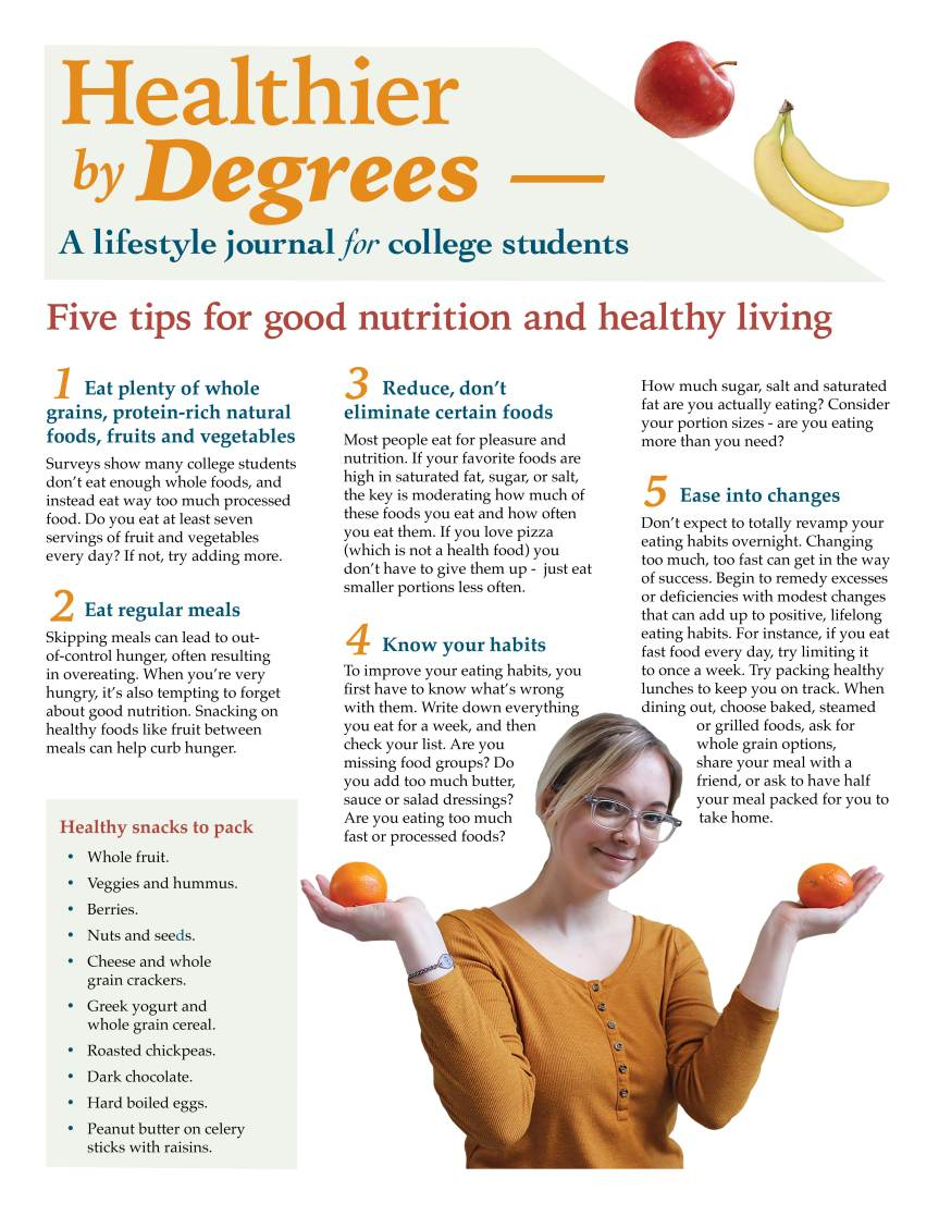 Healthier By Degrees Newsletter