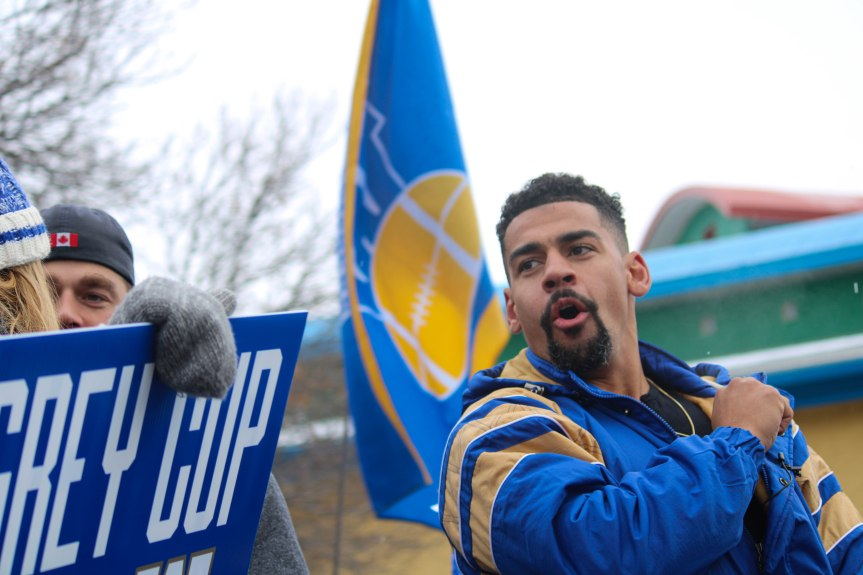 PHOTO GALLERY: Winnipeg Blue Bombers Grey Cup Parade