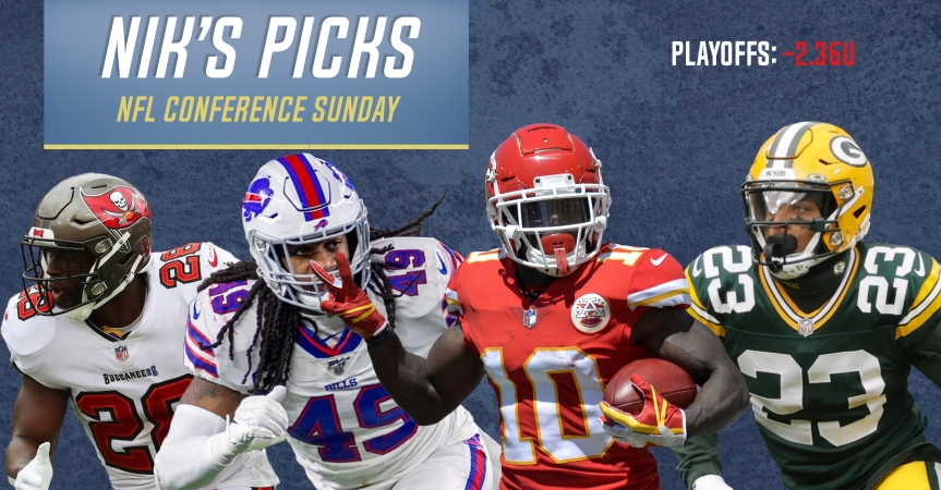 Nik's Picks: NFL Championship Sunday 2020