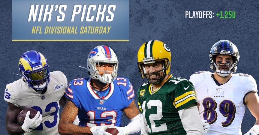 Nik's Picks: NFL Divisional Round Saturday2020